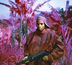 Retired Infrared Film Creates A Hot Pink Congo Photos of the Congo by Irish photographer Richard Mosse, using Kodak's infrared film (now retired).Photos of the Congo by Irish photographer Richard Mosse, using Kodak's infrared film (now retired). Infrared Photography, War Photography, Color Photography, Creative Photography, White Photography, Street Photography, Landscape Photography, Fashion Photography, Wedding Photography