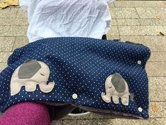 Kinderwagenmuff Handwärmer Joolz Elefanten