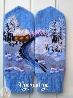 Knitted Mittens Pattern, Knit Cardigan Pattern, Knit Mittens, Knitting Socks, Baby Knitting, Knitted Hats, Crochet Sandals, Crochet Boots, Crochet Gloves