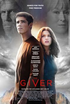 The Giver. Starring Jeff Bridges, Meryl Streep, Brenton Thwaites, and Alexander Skarsgard All Movies, Great Movies, Movies To Watch, Movies Online, 2016 Movies, Movies Free, See Movie, Movie List, Movie Tv