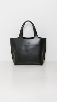 Robert Clergerie Casa Tote in Black | The Dreslyn