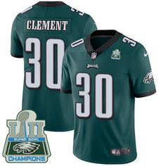 Philadelphia Eagles jersey · Nike Eagles  30 Corey Clement Midnight Green  Team Color Super Bowl LII Champions Men s Stitched fabf73cf3