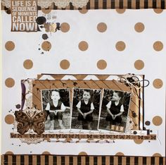 I have just done some shop samples for Tomorrow's Memories using the new Mix & Match Collection from Kaisercraft and thought I'd share t. Scrapbook Pages, Scrapbooking, Scrapbook Layouts, Number 27, Mix Match, Birthday Cards, Projects To Try, Photo Wall, Colours
