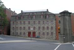 The Brethren's House, one of the beautiful Moravian buildings in Historic Bethlehem, PA