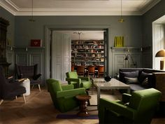 Abstract: The Art of Design - ambiente criado pela designer de interiores Ilse Crawford