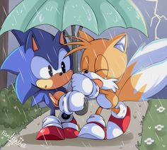 Cute - Sonic and Tails