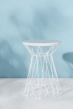 Slide View: 1: Ancer Indoor/Outdoor Side Table