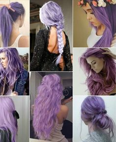 I miss my purple hair Purple and Lilac and lavender Hair Color Ombré Hair, Dye My Hair, Hair Dos, New Hair, 2015 Hairstyles, Pretty Hairstyles, Brunette Hairstyles, Lavender Hair, Lilac Hair