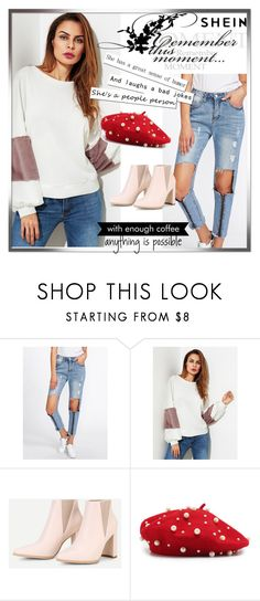"""""""SHEIN 4/10"""" by women-miki ❤ liked on Polyvore featuring WALL"""
