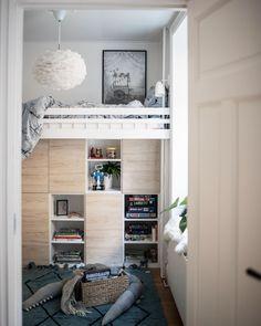 We play 🎈 photo / / Scandinavian, Loft Bed, Decor, Furniture, Bed, Home, Interior, Home Decor