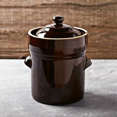 Shop fermentation pot from Williams Sonoma. Our expertly crafted collections offer a wide of range of cooking tools and kitchen appliances, including a variety of fermentation pot. Fermentation Pot, Pickling Crock, Homemade Sauerkraut, Making Sauerkraut, Fermented Sauerkraut, Canning Supplies, Shops, Cooking Utensils, Serving Utensils