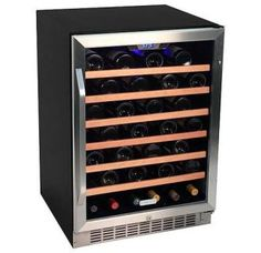 $700 View the EdgeStar CWR531SZ 24 Inch Wide 53 Bottle Built-In Wine Cooler at Build.com.