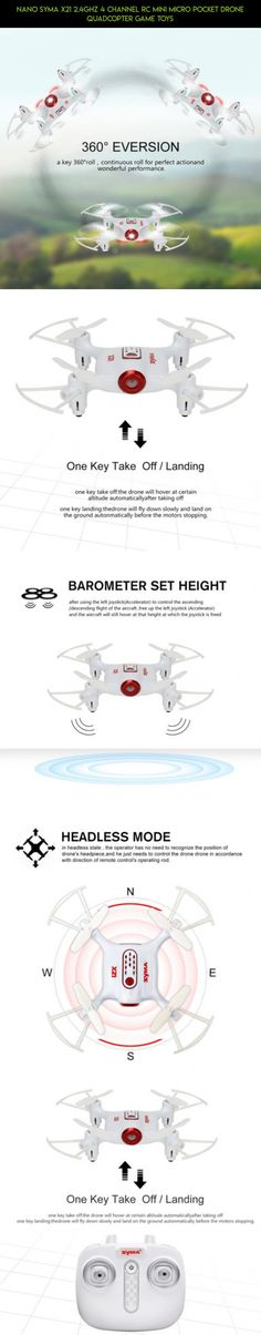 Nano Syma X21 2.4Ghz 4 Channel RC Mini Micro Pocket Drone Quadcopter Game Toys #parts #drone #drone #racing #technology #plans #fpv #nano #products #shopping #syma #tech #gadgets #kit #camera