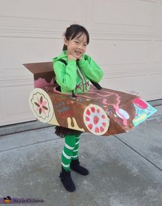 Vanellope from Wreck-It Ralph Homemade Costume