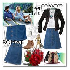 """Romwe"" by ilona-828 ❤ liked on Polyvore featuring Rebecca Taylor, Tamara Mellon, Balenciaga, StreetStyle, romwe, polyvoreeditorial and stylemoi"