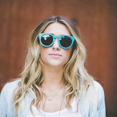 Teal Maple Wood Sunglasses, 7-Ply Wooden Eyewear, Recycled Skateboard Wood Sunglasses - LKTSK1