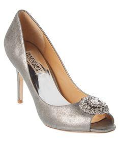 BADGLEY MISCHKA Badgley Mischka Roanna Leather Pump'. #badgleymischka #shoes #pumps & high heels