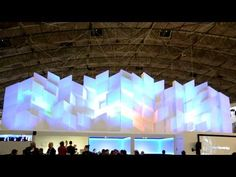 Christie 3D Mapping at ISE 2013 - YouTube