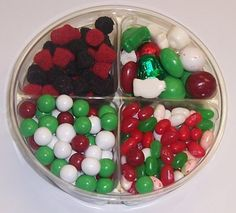 Scott's Cakes 4-Pack Christmas Mix Jelly Beans, Deluxe Christmas Mix, Dutch Mints,