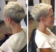 Frau Hat Neue Frisur