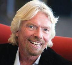 Richard Branson Lunch Break