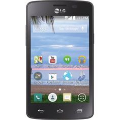 TracFone LG Lucky Android Prepaid Smartphone buy at cheap offer price