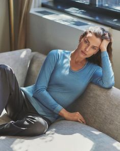 Irina Shayk Falconeri Ultralight Cashmere Campaign | Fashion Gone Rogue Irina Shayk, New Underwear, Fashion Magazine Cover, Magazine Covers, Campaign Fashion, Top Les, Girl Next Door, Italian Fashion, Fashion Labels