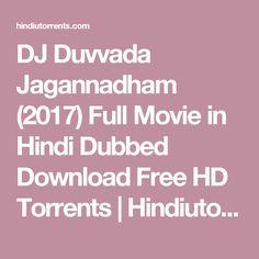 DJ Duvvada Jagannadham (2017) Full Movie in Hindi Dubbed Download Free HD Torrents | Hindiutorrents