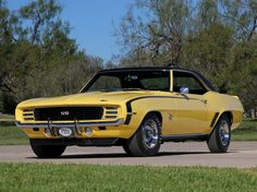 Chevrolet Camaro RSSS 396 http://classiccarland.com/ownership/classic-car-collection/