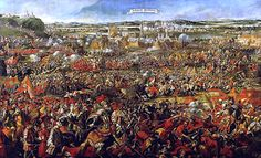 "TIL that the largest cavalry charge in history occurred in 1683 during the Turkish siege of Vienna. An force of 18,000 Polish and German Cavalrymen charged the Turkish line and inflicted over 40,000 casualties, completely routing the Turks. The Polish king later said ""I came, I saw, God conquered"""