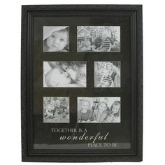 Wood Collage Photo Frame - Together