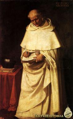 Francisco de Zurbarán, Fray Pedro Machado, 1633, Real Academia de Bellas Artes de San Fernando, Madrid