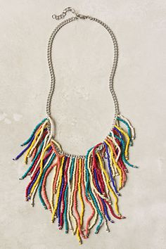 if i'm ever feeling ambitious enough i'm sure i could diy this anthropologie necklace