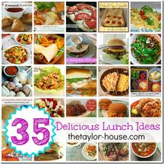 35 Delicious and Easy Lunch Ideas