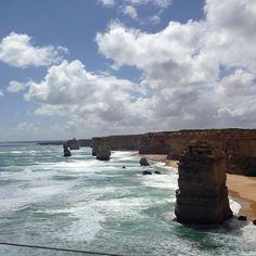12 apostles great ocean road #australia #melbourne #12apostles #greatoceanroad by 02nwilliams http://ift.tt/1ijk11S