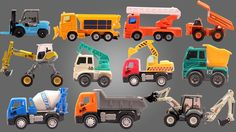 Welcome to Kids Channel Toy Collector. In this video we will be teaching kids construction videos such as fork lift ladder truck winter service truck Dump truck Fork Lift Walking excavator front loader and many more vehicles. #toys #vehicles #constructionvehicles #kidsvideos #babyvideos #entertainment #educational #forkids #babies #parenting