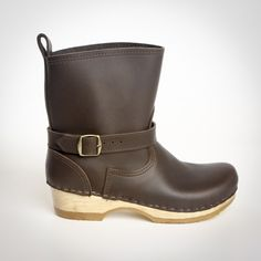 """7"""" Clog Bootie - All Leather - Sven Style # 9113-7"""""""