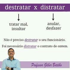 Destratar / Distratar