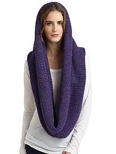 Portolano Chunky Knit Infinity Scarf