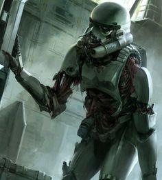 Star Wars Trooper zombie