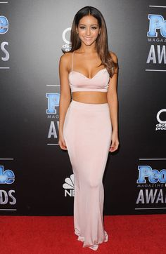 Melanie Iglesias at the People Magazine Awards