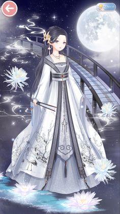 Fantasy Armor, Fantasy Dress, Nikki Love, Anime Kimono, Anime Princess, Queen Dress, Anime People, Fashion Design Sketches, Anime Outfits