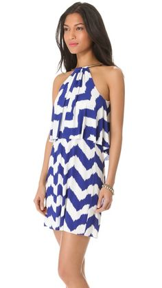 Tbags Los Angeles | Layers Mini Dress in multi