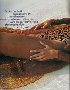 Elle (US) January 1991 | Rachel Williams