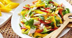 Our fresh twist on a Vietnamese-style chicken salad is a summertime hit.