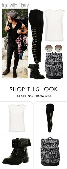 """""""#146"""" by londero-danielle ❤ liked on Polyvore featuring Finders Keepers, Pilot, Refresh and Prada"""