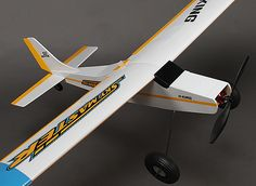 Never have it in stock when I have money. When it's in stock ... I have no money. Skymaster V2 Plug and Fly Trainer Airplane Balsa/Ply 1005mm (PNF).