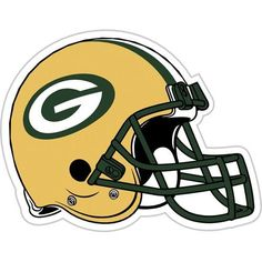 Green Bay Packers NFL 12 Vinyl Magnet