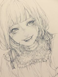 Manga Drawing, Manga Art, Pretty Art, Cute Art, Image Manga, Art Archive, Anime Sketch, Anime Art Girl, Ink Art