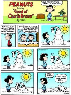 Classic Peanuts 2/1/15 - Originally appeared 2/4/68
